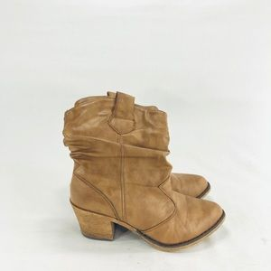 Wet Seal women's ankle boots size 6 brown